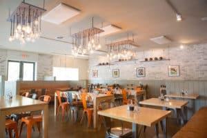 Modern Rustic Design Restaurant
