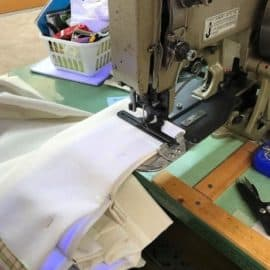 Let us take you on window treatments and bedding workroom tour!